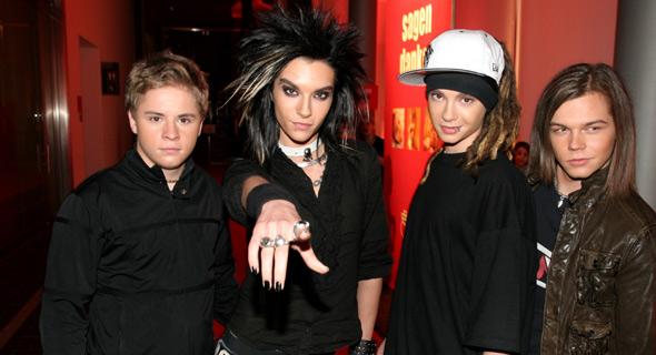 Tokio Hotel le groupe de rock qui déchire !!!