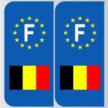 plaques d 39 immatriculation personnalis es en belgique. Black Bedroom Furniture Sets. Home Design Ideas