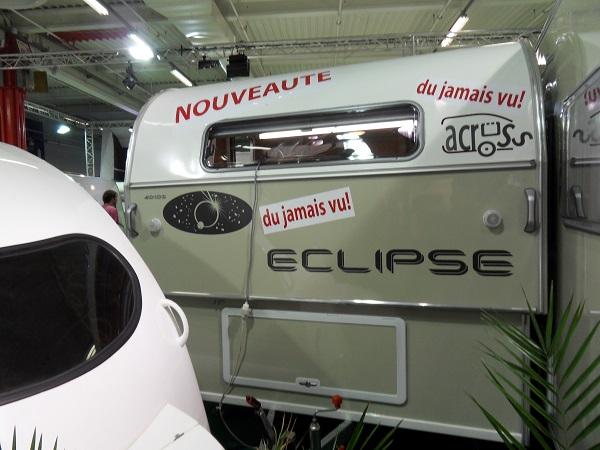 Caravane pliante rigide neuve eclipse