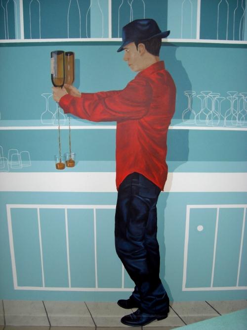 Nouvelle peinture murale bar - Nouvelle peinture murale ...