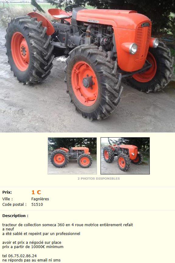 pourquoi les tracteurs same ne semblent ils pas avoir la c te. Black Bedroom Furniture Sets. Home Design Ideas