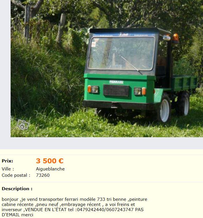 envie d 39 un 4rm transporteur tracteur montagnard page 2. Black Bedroom Furniture Sets. Home Design Ideas