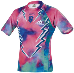 Stade Francais psychedelic Shirt