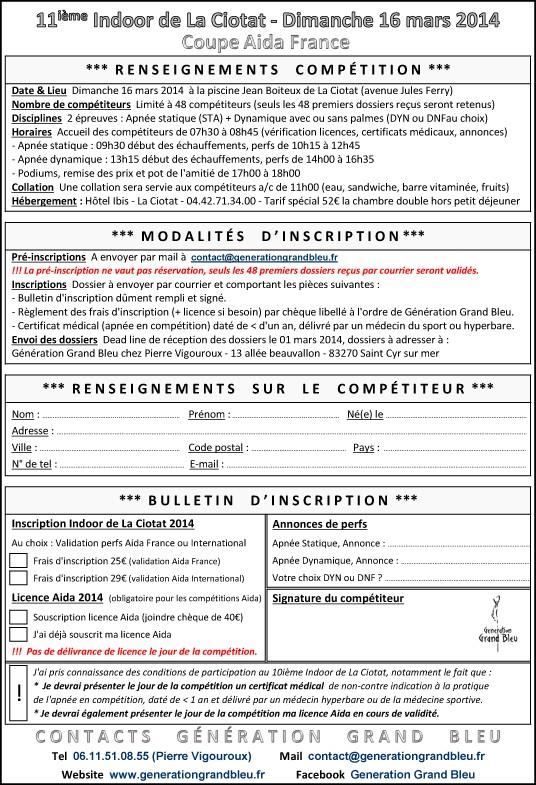 Actualit s generationgrandbleu - Www le palet com competitions coupes bulletins d inscriptions ...