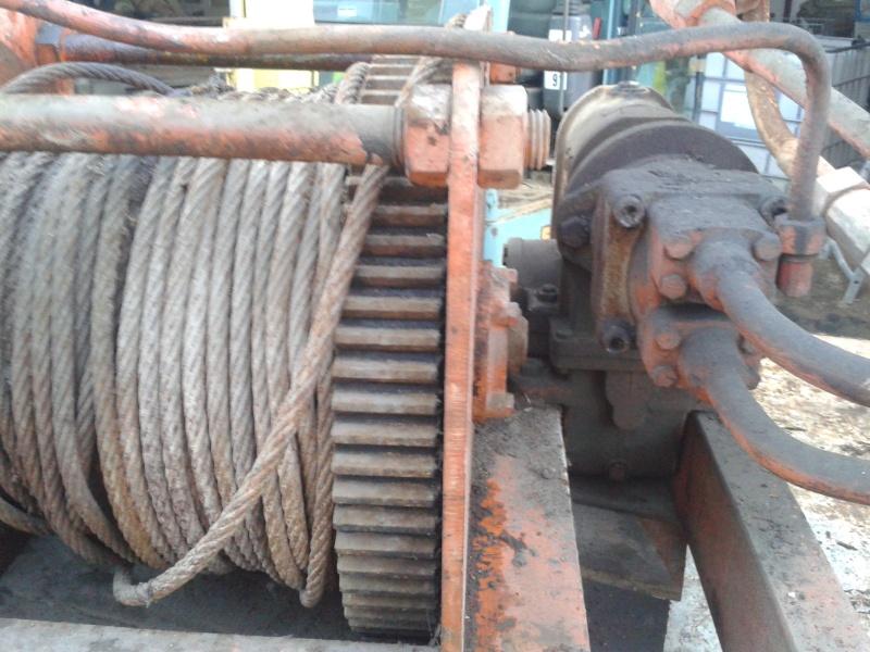 treuil forestier hydraulique en gros