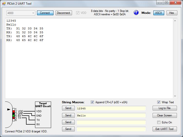 VELLEMAN EDU10 - PicKit 2 UART tool - EDU10 - Velleman for