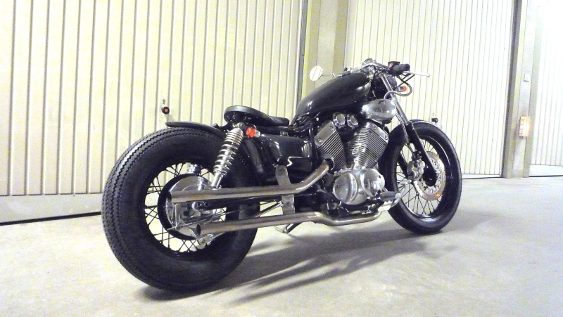 virago 1100 bobber with T9179 Bobber Sur Base Virago 535 on Bobber as well Page 3 further 125 moreover Bmw K100rs Cafe Racer Hageman Motorcycles as well Watch.