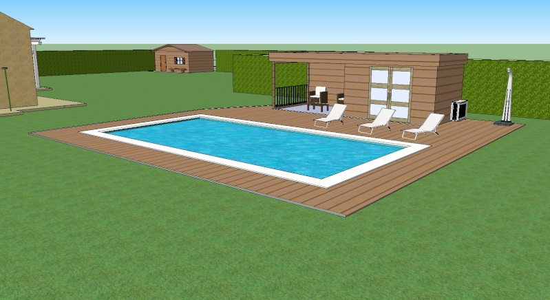 Piscine 8 5 x 4 x auto construction pose carrelage for Piscine 4 par 8