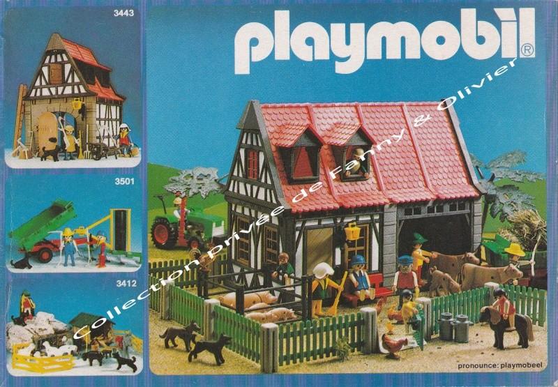 catalogue playmobil 1984 fanny et olivier