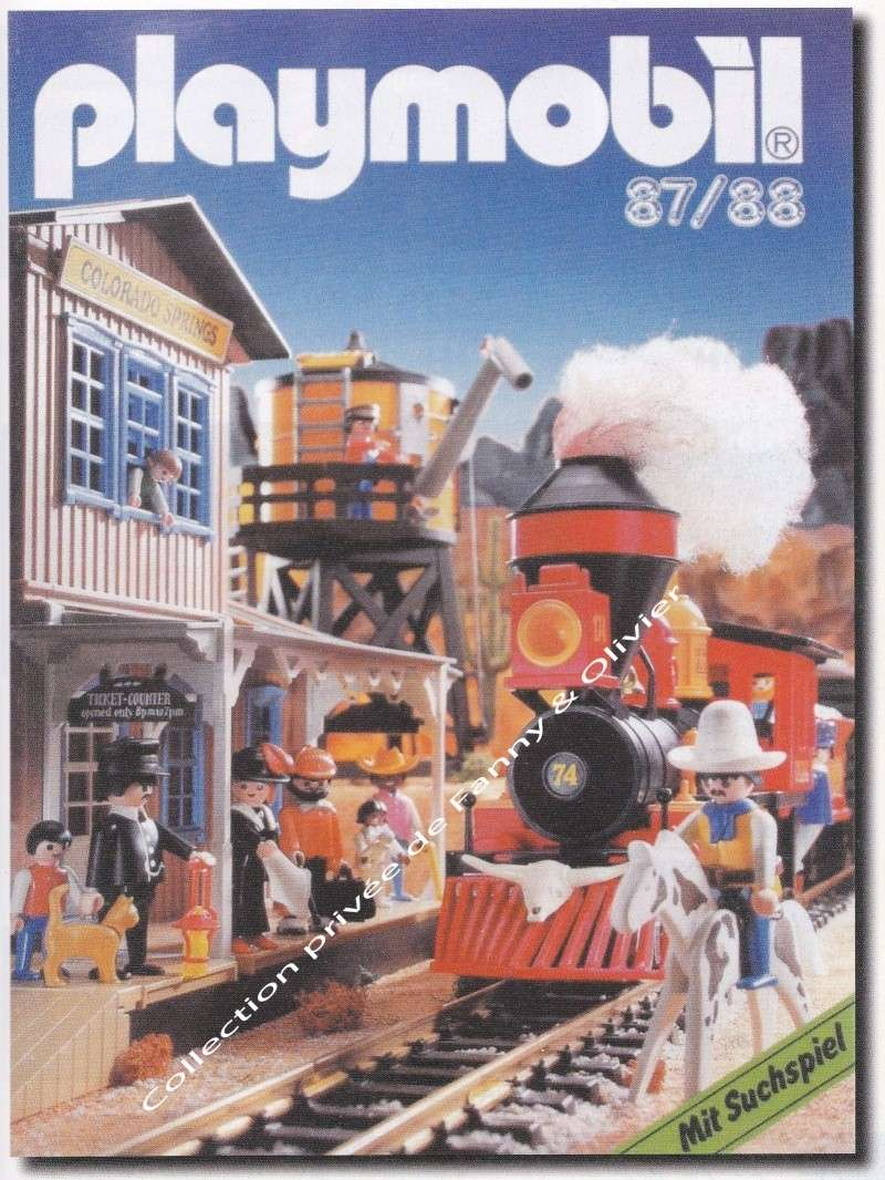 catalogue playmobil 1987 88 fanny et olivier