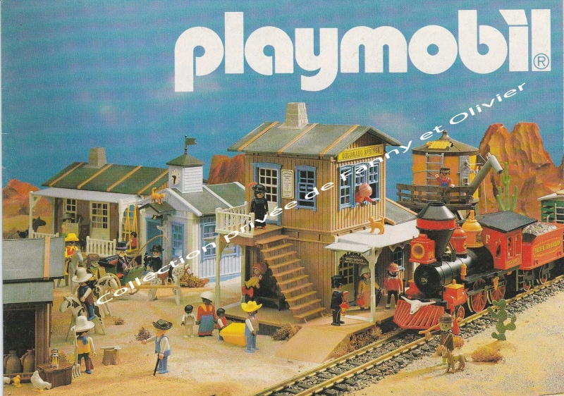 catalogue playmobil 1988 fanny et olivier