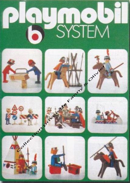 catalogue playmobil 1974 75 fanny et olivier