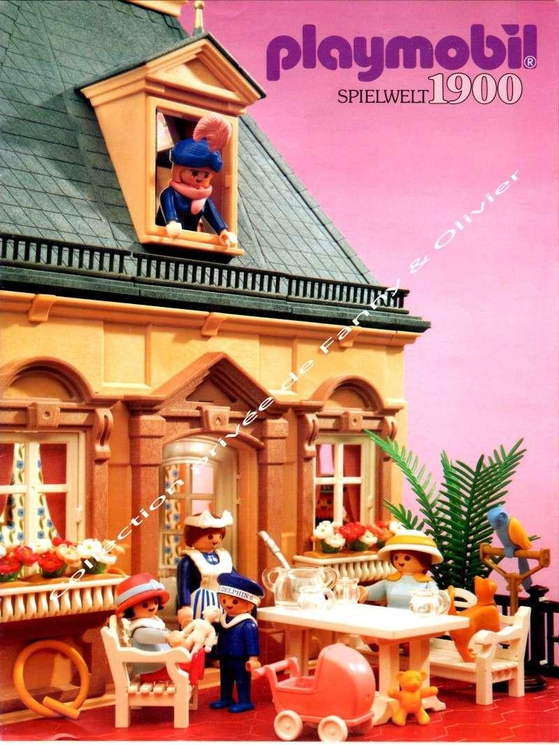 catalogue playmobil 1991 spécial belle époque fanny et olivier
