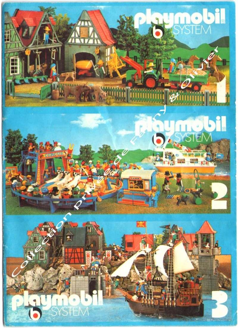 flyer playmobil 1978 fanny et olivier