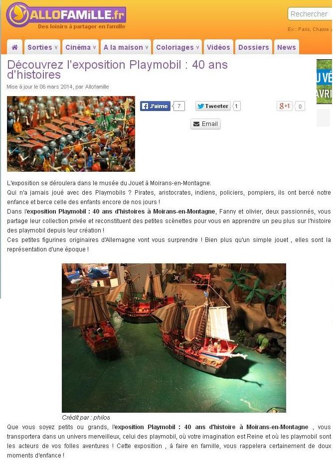 allofamille expo playmobil fanny et olivier