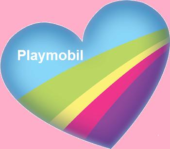 Coeur Fanny et Olivier Playmobil