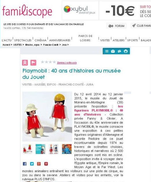 familiscope expo playmobil fanny et olivier
