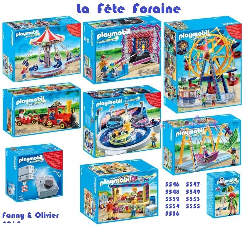 Fête Foraine Playmobil Fanny et Olivier 2014