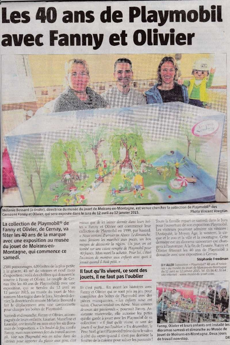 journal alsace fanny et olivier playmobil expo