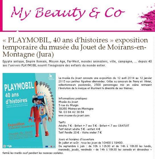 my beauty expo playmobil fanny et olivier