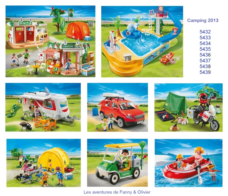 Camping Playmobil 2013 Fanny et Olivier