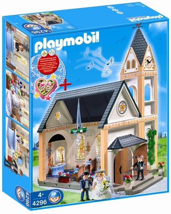 Eglise Playmobil 4296 Fanny et Olivier