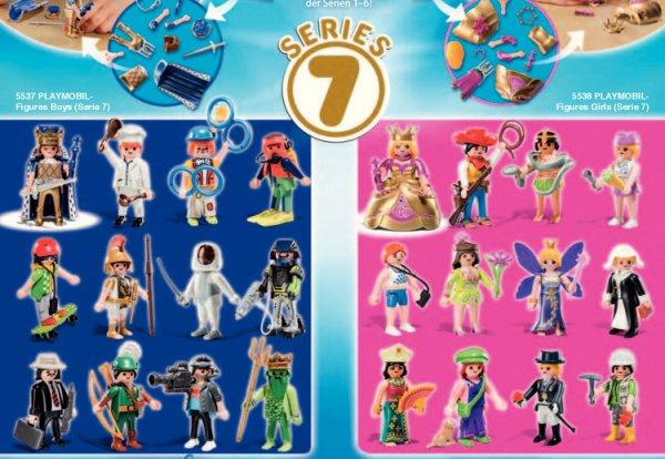 playmobil figure serie 7 fanny et olivier