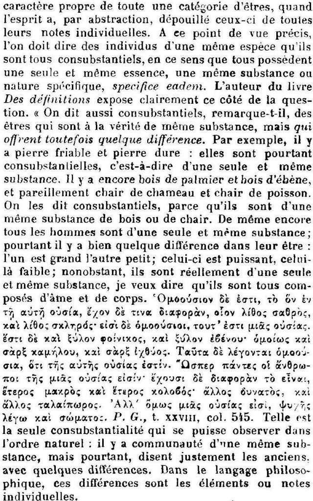 Dictionnaire de Théologie Catholique