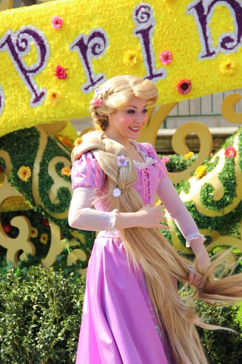 Rencontre avec princesse disney
