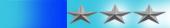 ثلاثه نجوم فضيات 50%