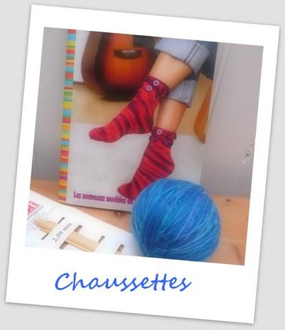 Défi Chaussettes de nOël au tricotin .... ou pas !