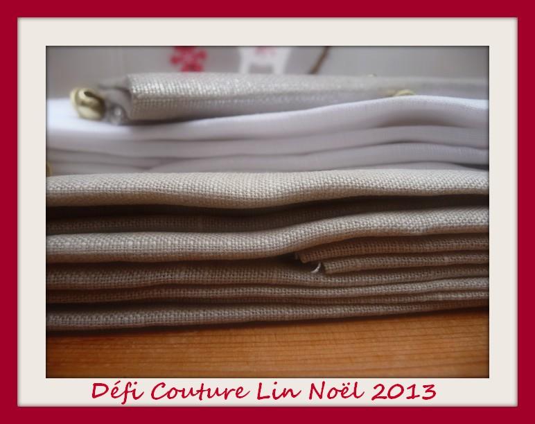 Défi couture Lin Noël 2013 #1