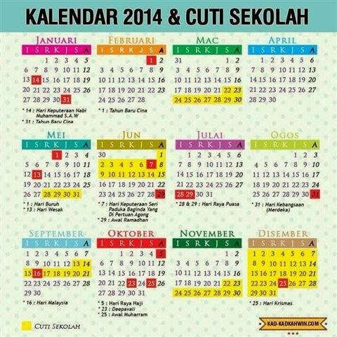 Kalender 2016 Malaysia Public Holiday | Calendar Template 2016