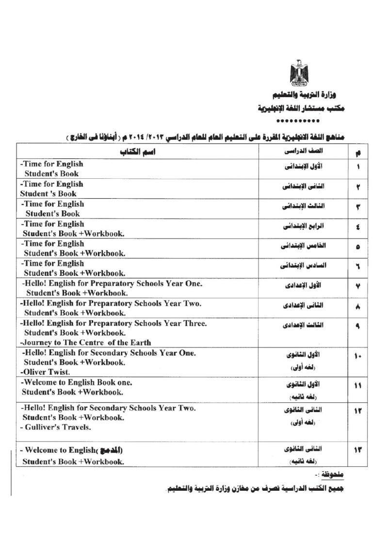 مناهج اللغة الانجليزية المقررة على ابناؤنا فى الخارج جميع الصفوف 1_engl11.jpg