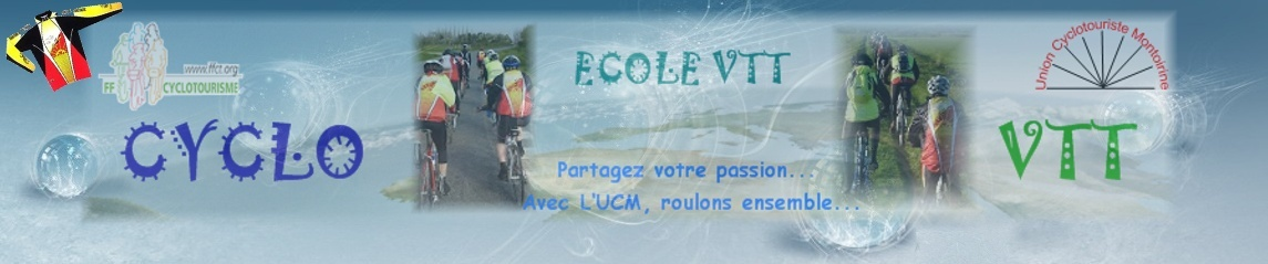 Forums de l'Union Cyclotouriste Montoirine ( UCM )