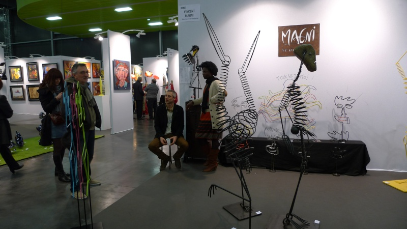 Art3f 1 re salon international d 39 art contemporain nantes for Salon international d art contemporain toulouse