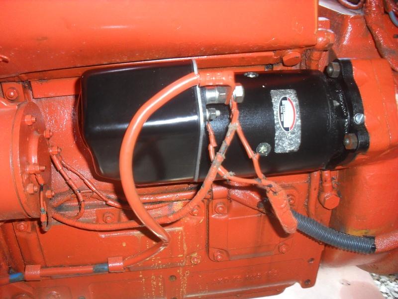 Demarreur tracteur renault d35