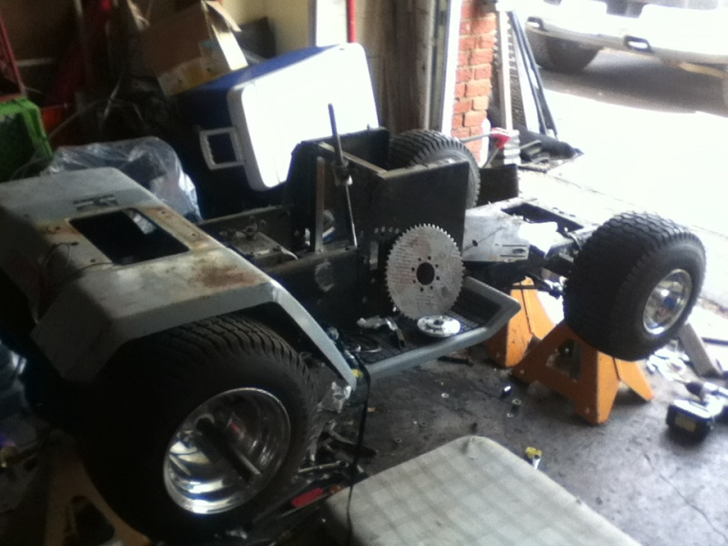 Racing Mower Front Axle : Project quot yoder redzz s racer