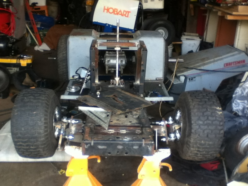 Racing Mower Axle : Project quot yoder redzz s racer
