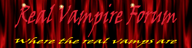 Real Vampyre Forum