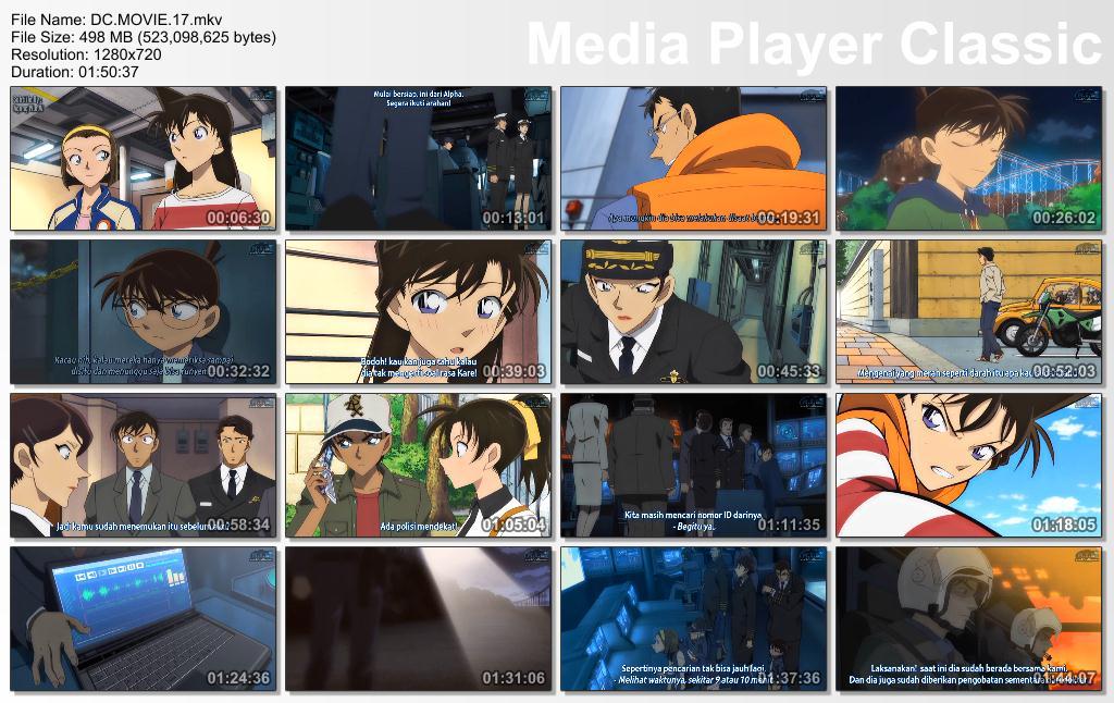 Detective Conan Movie 17 Subtitle Indonesia