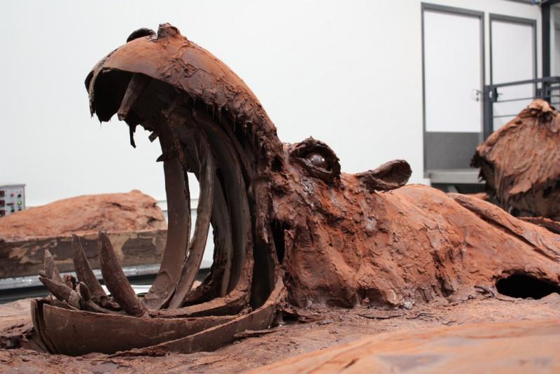 Sculptures de chocolat - Sculpture en chocolat patrick roger ...