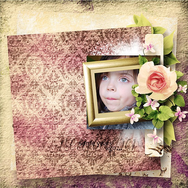 some years ago simplette scrap design vintage page xuxper