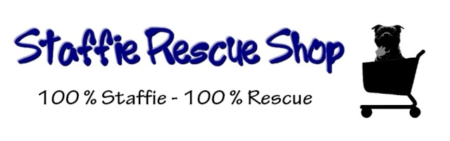 Logo Staffie Rescue Shop