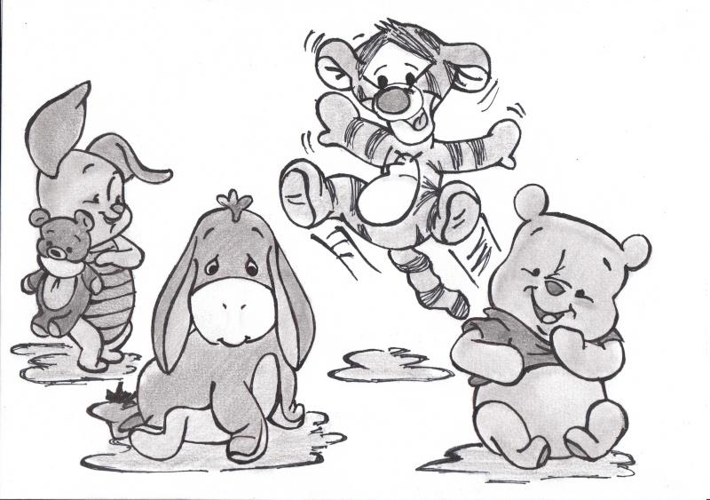 Mes dessin disney page 17 - Dessin de personnage disney ...