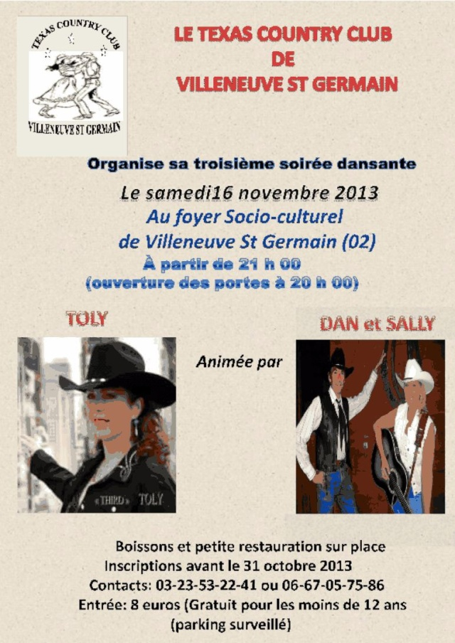 Bal country catalane line dance v nements pass s for Bureau 02 villeneuve saint germain