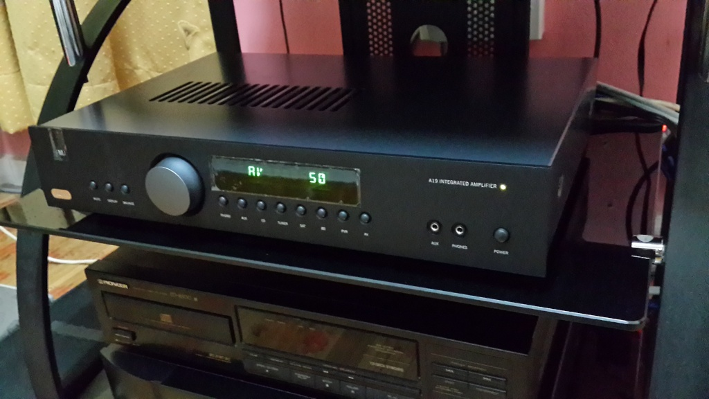 Arcam Fmj A19 Integrated Amp Used Sold