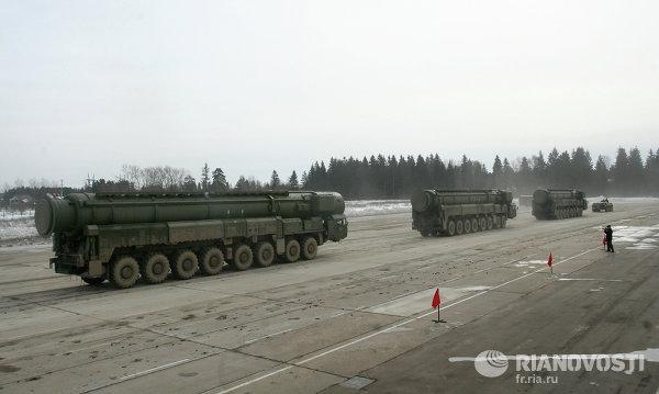 Forces nucléaires stratégiques russes
