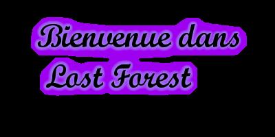 Bienvenue sur Lost Forest