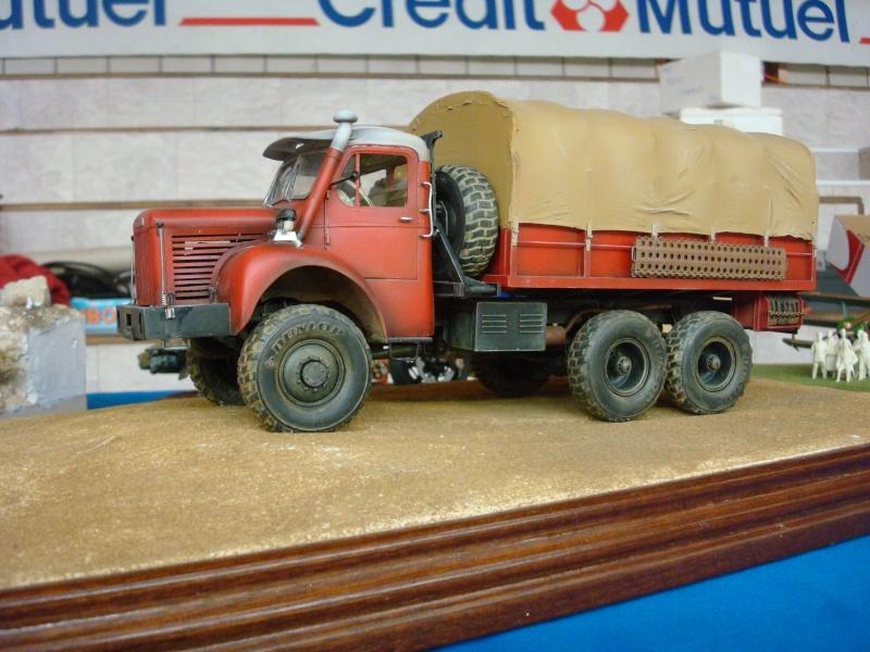 maquette camion berliet 1 24. Black Bedroom Furniture Sets. Home Design Ideas